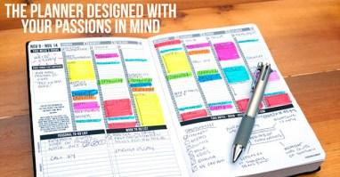 Passion Planner Contents