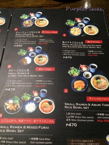 Hokkaido Ramen Santouka - Rice Bowl Set