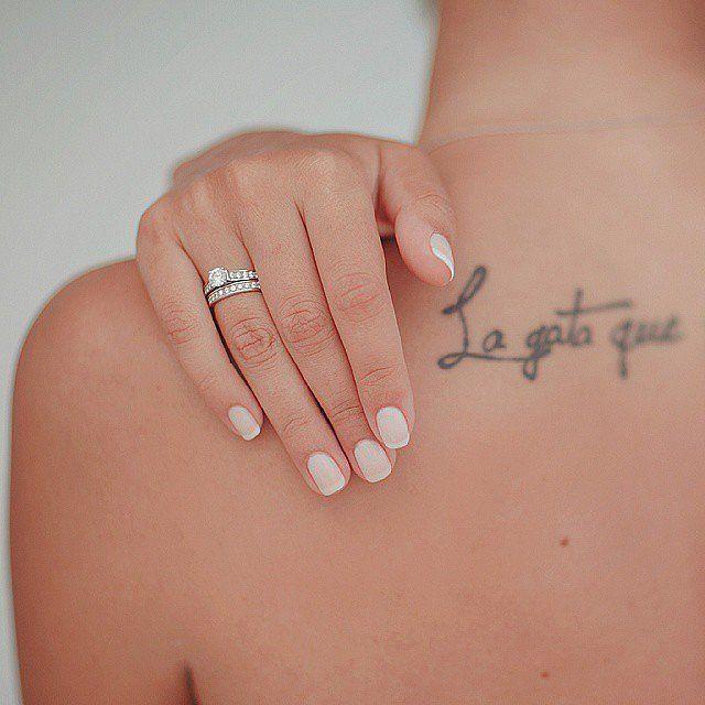 Simple Bridal Manicure