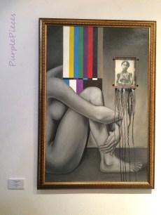 She Weeps for her Present by Roel Salvatierra