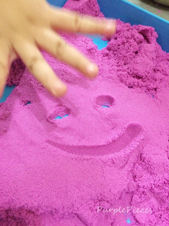 Kinetic Sand Purple