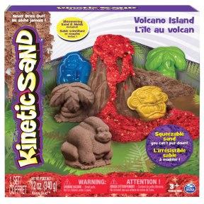 Kinetic Sand - Volcano Island Set