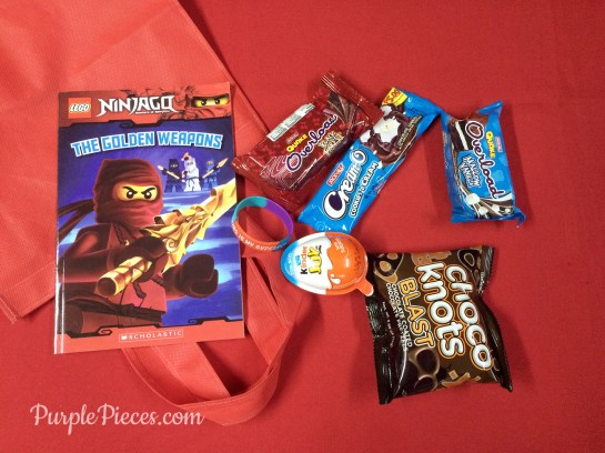 Scholastic Summer Reading Fun Loot Bags