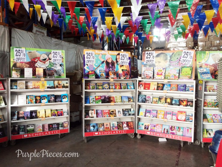 Scholastic Warehouse Sale 2016