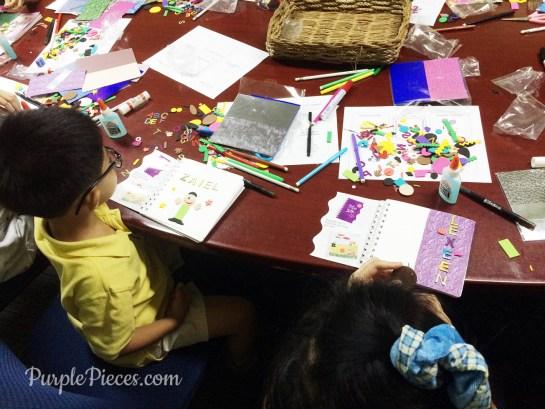 Summer Reading Fun Build a Book Activity