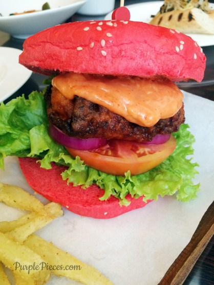 Red Hot DOry Burger - Quims Cake