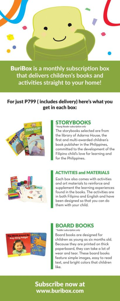 Buribox Book Subscription for Kids
