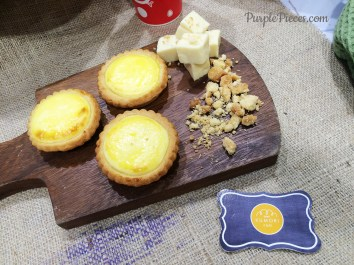 Cafe Kumori Signature Cheese Tart