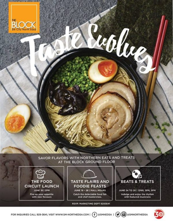 Taste Evolves SM City North EDSA