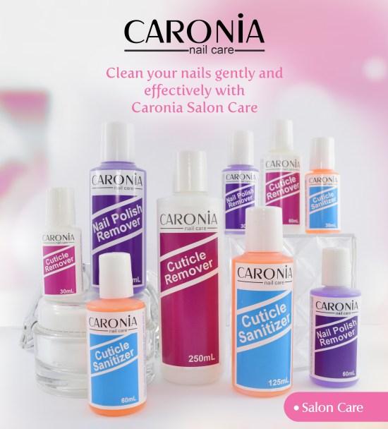Caronia Salon Care - Cuticle Remover - Cuticle Sanitizer - Nail Polish Remover