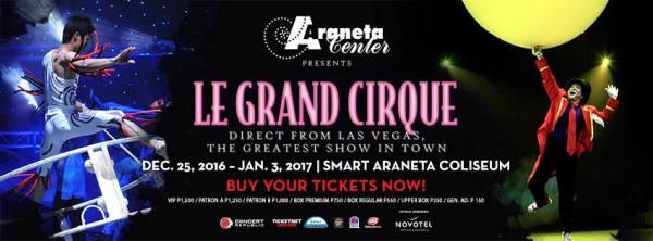 Le Grand Cirque Manila