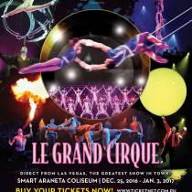 Le Grand Cirque at Smart Araneta Center