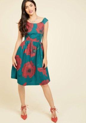 ModCloth Celebrated Sophisticate Midi Dress