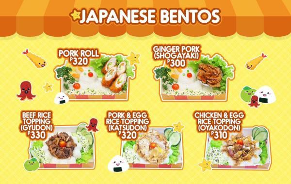 Japanese Bento - oh Bento Cafe Nuvali
