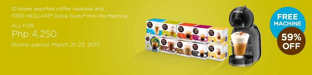 Lazada Nescafe Dolce Gusto Mini-Me Machine