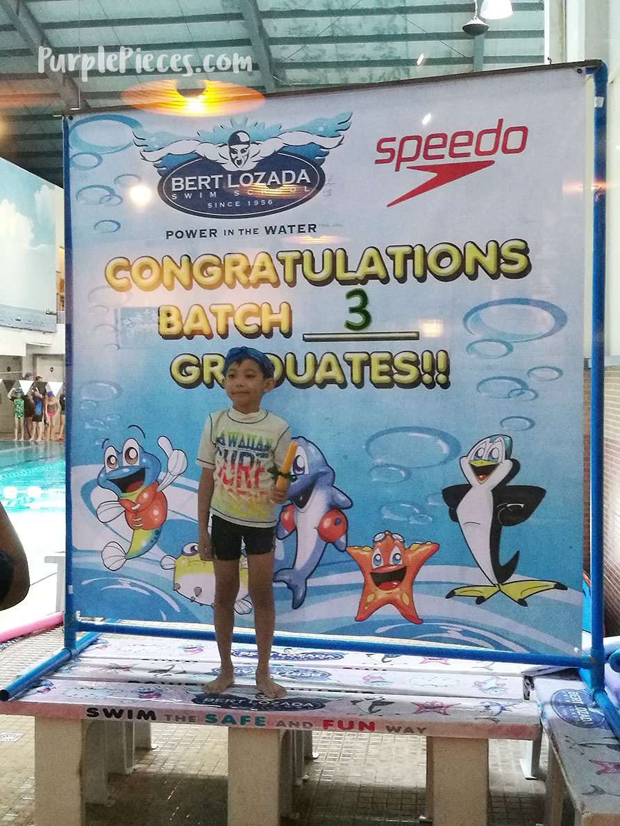 Bert Lozada Swim School in Ace Water Spa QC