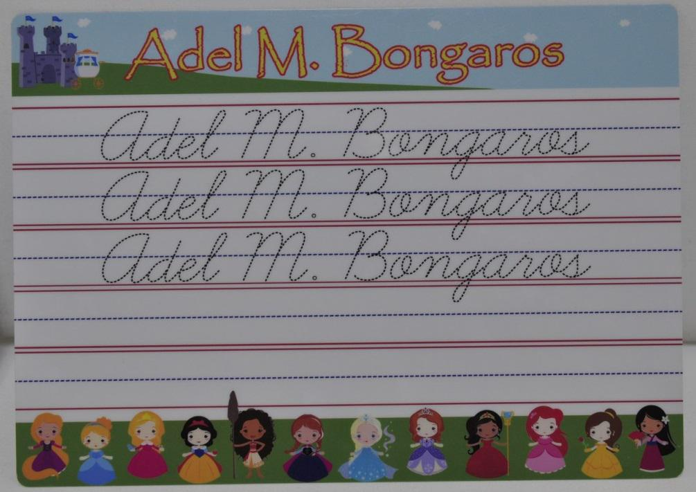 Writing Boards for Kids Customizable