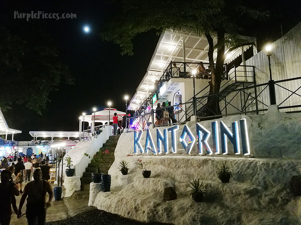 Kantorini Food Park: New Foodie Place in Katipunan Avenue, Santorini Style