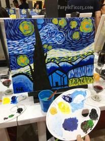Sip & Gogh Starry Night Van Gogh