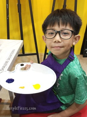 Sip and Gogh Painting for Kids