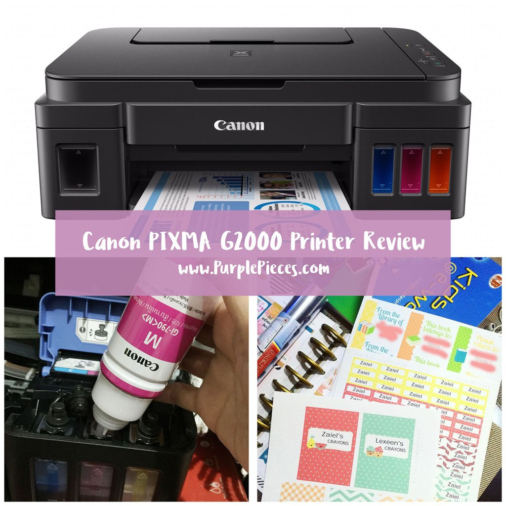 Canon PIXMA G2000 Inkjet Printer Review Philippines