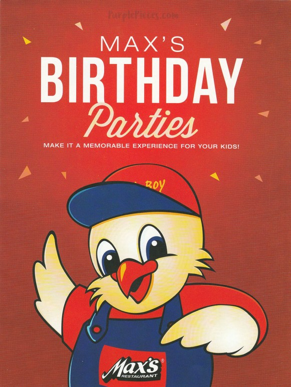 Max's Birthday Party Packages