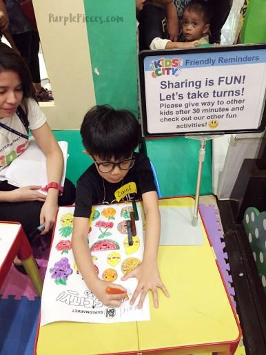 SM Kids City Coloring Activity