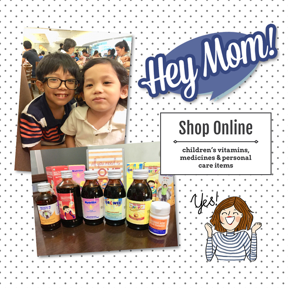 Hey Mom Online Shop - Vitamins Medicines Philippines