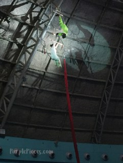 Snowmaiden Aerial Performance