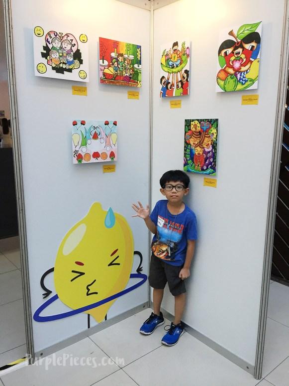 Fruitas Kids Fresh Art Exhibit