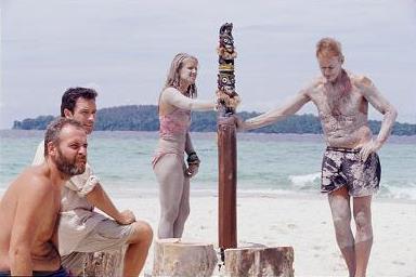 Borneo final immunity Kelly vs Rudy- Rich sitting out