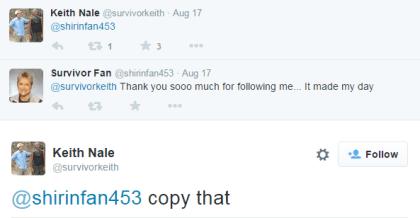 Keith tweet- follow copy that