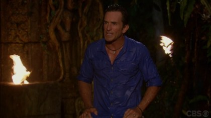 Cambodia- Probst soaked at tribal council
