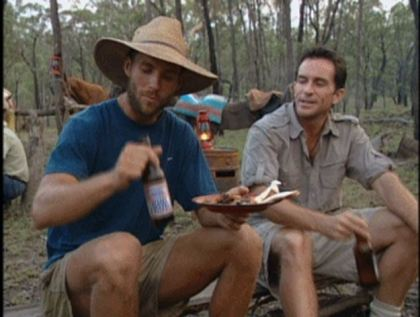 Australia- Colby drinks beer with Probst