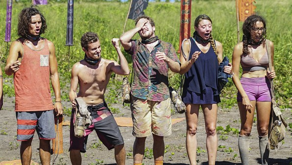 """Still Throwin' Punches"" - Justin Starrett, Adam Klein, Ezekiel/Zeke Smith, Jessica Lewis and Hannah Shapiro on the ninth episode of SURVIVOR: Millennials vs. Gen. X, airing Wednesday, Nov. 16 (8:00-9:00 PM, ET/PT) on the CBS Television Network. Photo: Monty Brinton/CBS Entertainment ©2016 CBS Broadcasting, Inc. All Rights Reserved."