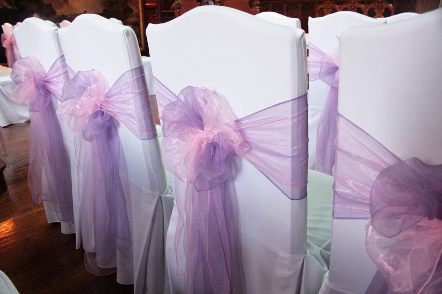 Chair Sash Hire for Weddings