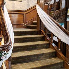 Wedding Chair Cover Hire Lancaster Swing On Rent Table Runner | Cumbria Swagging Lake District