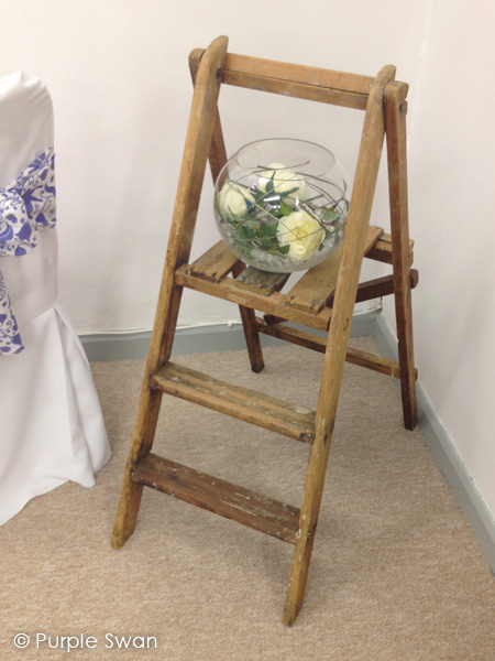 purple chair sashes for weddings teak table and chairs garden wedding props hire | cumbria