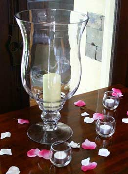 Lily Vase Hire  Hurricane Vase Hire  Wedding Table