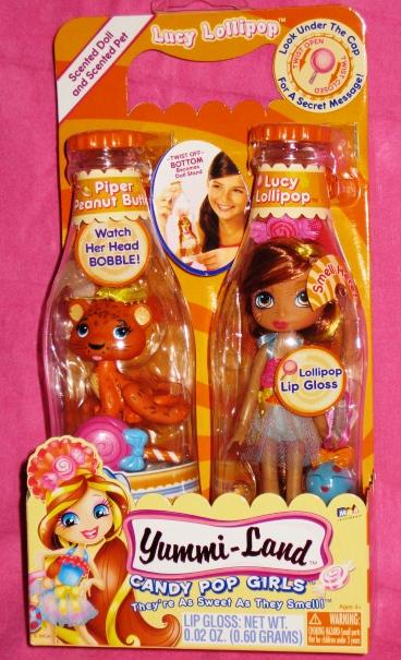 YummiLand  Lucy Lollipop Doll Plus Pet  PurpleToyShopcom