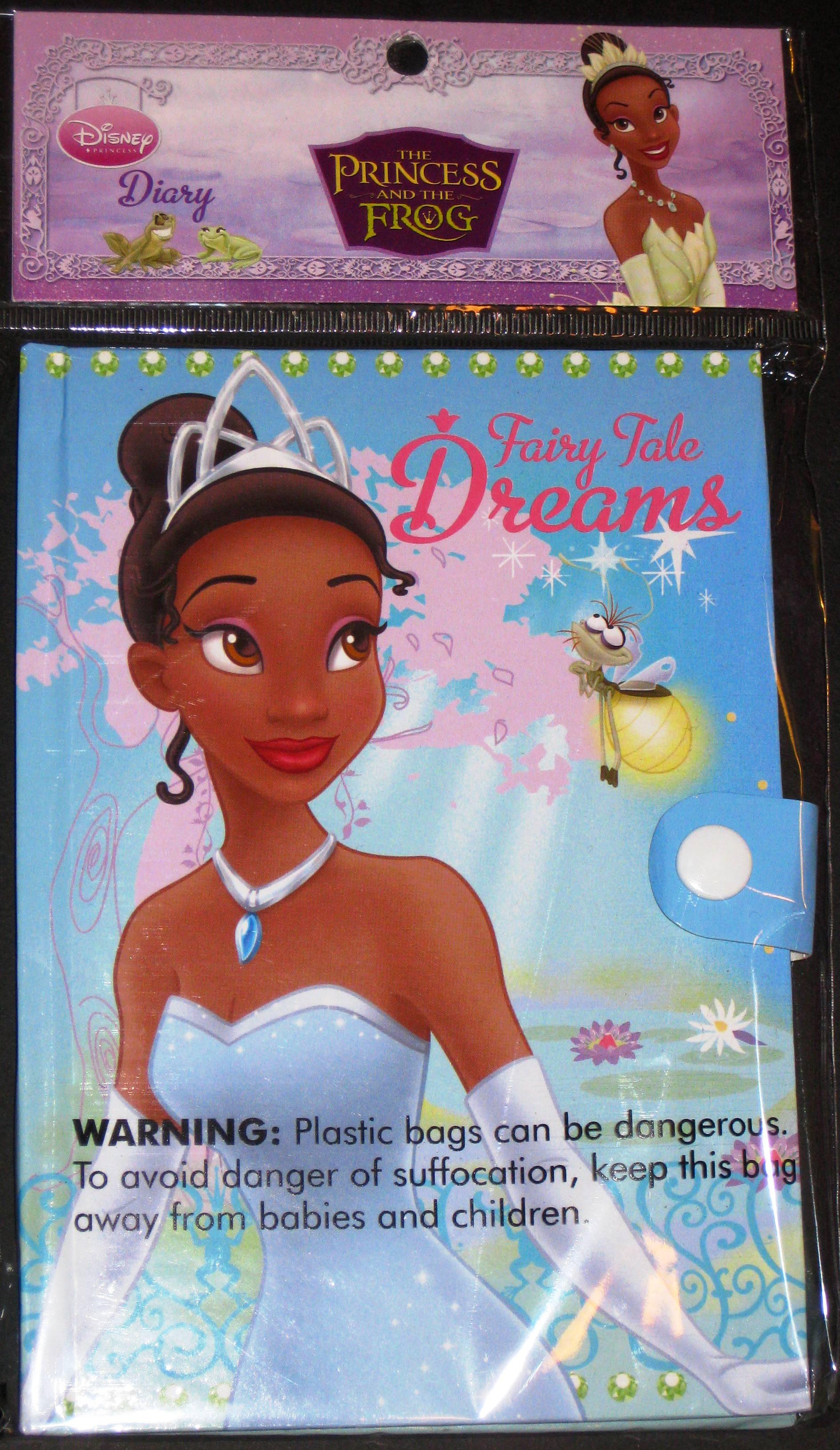 Disney Princess Tiana Diary Journal Fairy Tale Dreams  PurpleToyShopcom