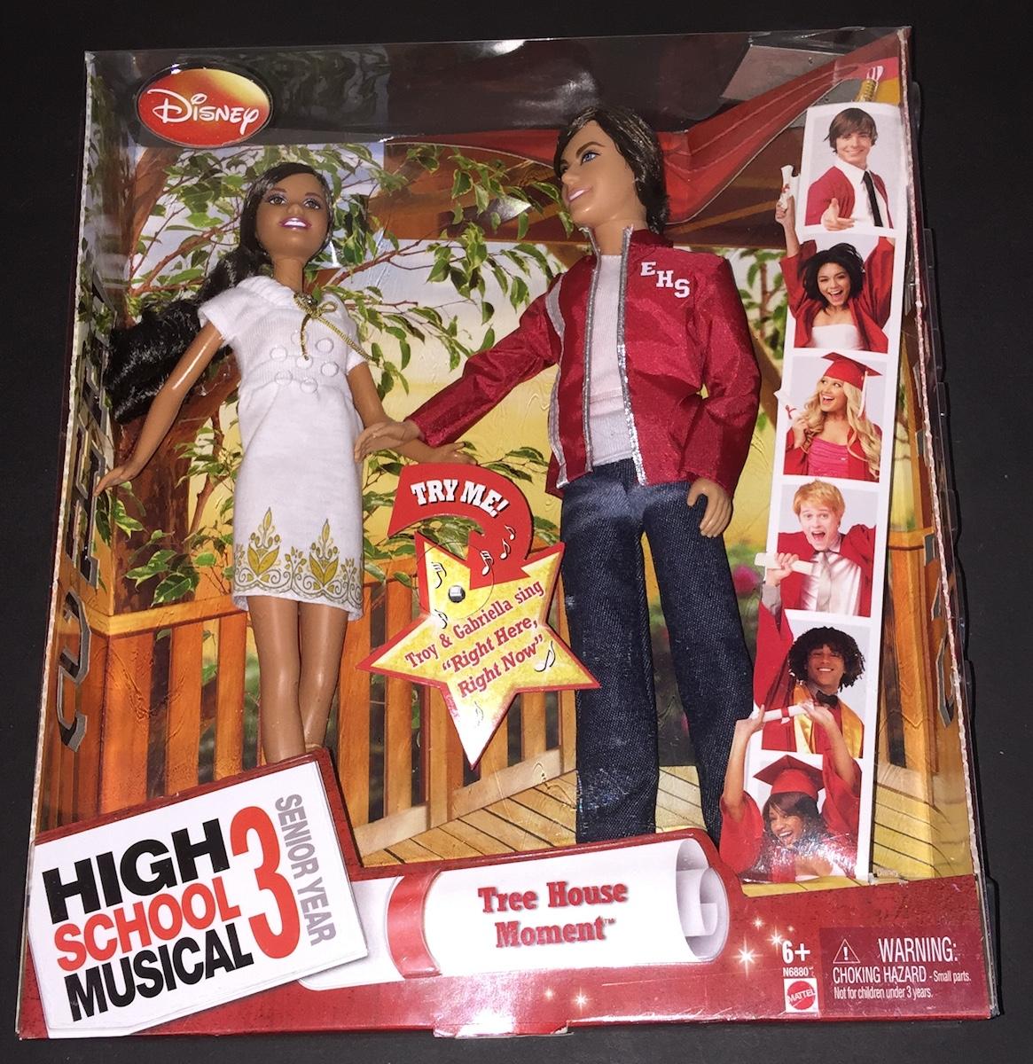 Singing High School Musical 3 Dolls Troy Amp Gabriella
