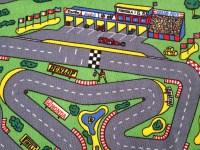 race car track rug  Roselawnlutheran
