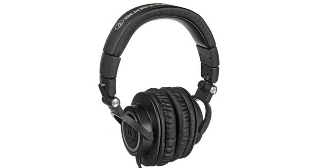 Audio Technica ATHM50 Professional Monitor Headphones - PurposeFairy.com