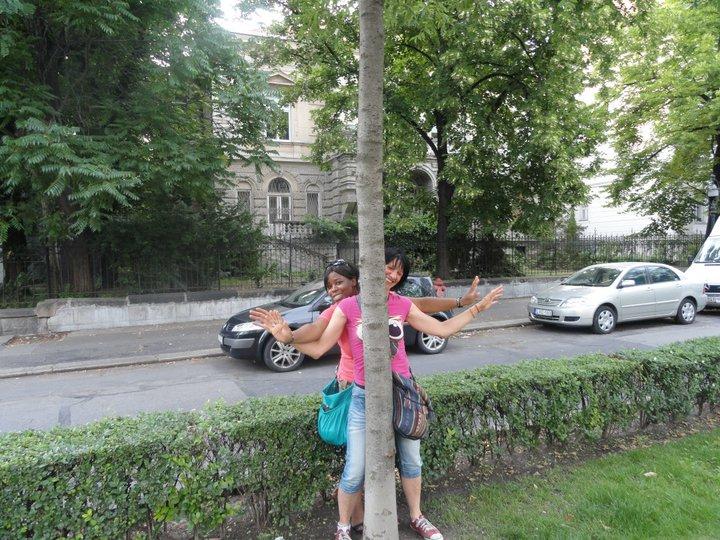Fun visiting Budapest