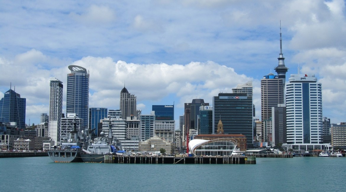 3. AUCKLAND - NEW ZEALAND most liveable cities