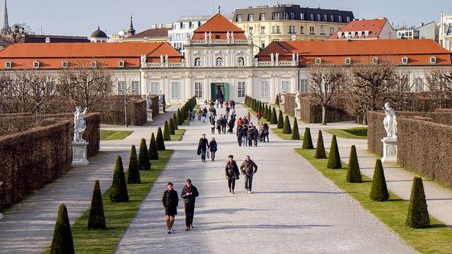 Belvedere districts of vienna