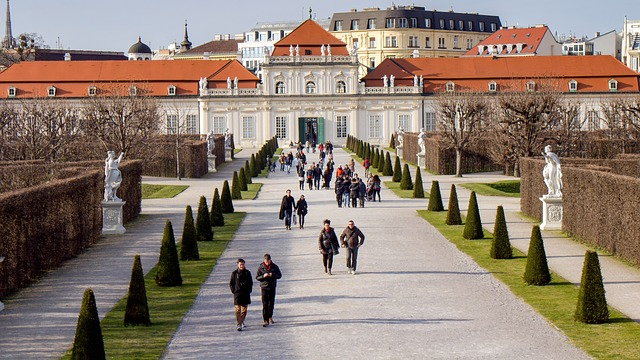 Belvedere districts of vienna