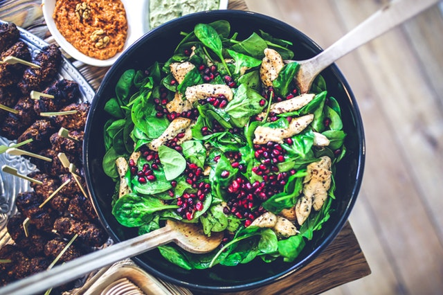 7 Foods That Will Boost Your Immune System, Be inspired to practice conscious cooking, cooking bowl with vegetables and salad