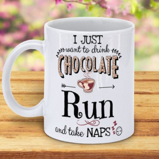 personalized coffee mug for runners, Best Gifts for Coffee Lovers, All Under $15!